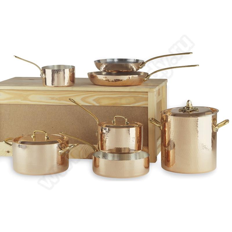 Набор медной посуды 10 предметов Мир Посуды - все для баров и рестаранов, посуда оптом. 80C6OL00